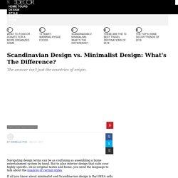 Scandinavian Design vs. Minimalist Design: What's The Difference — Minimalism