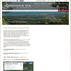 Scandinavian Spa and massage at Blue Mountain