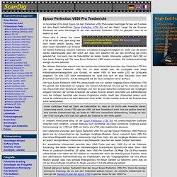 Ausführlicher Test Epson Perfection V850 Photo mit Beurteilung der Bildqualität und Scangeschwindigkeit