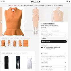 Vêtements de luxe pour femme 2015