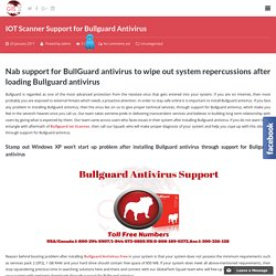 IOT Scanner Support for Bullguard Antivirus