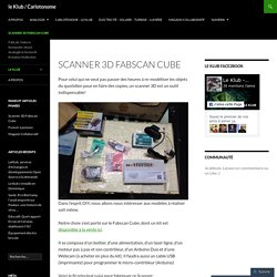 Scanner 3D Fabscan Cube