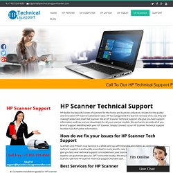 HP scanner Technical Support Number