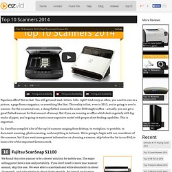 Compare Best Computer Document/Photo Scanners