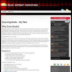 Brian Klug: Internet Adventures