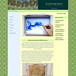 ScanArt - scanography - Scanner Art
