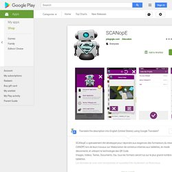 SCANopE – Android-Apps auf Google Play