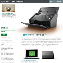 Scansnap – Evernote Edition Scanner