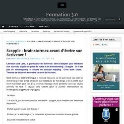 Scapple : brainstormez avant d'écrire sur Scrivener !