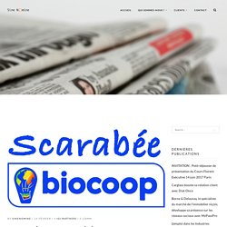 Scarabée Biocoop célèbre 2 ans de succès en Holacracy
