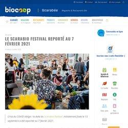 Le Scarabio Festival reporté au 7 février 2021 - Biocoop Scarabée