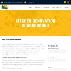 Kitchen Renovation Scarborough - Cedar Hills Contracting
