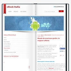 Ebook da scaricare gratis: le migliori offerte