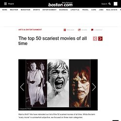 Top 50 scariest horror movies of all time - Halloween movies