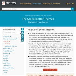 The Scarlet Letter Themes - eNotes.com