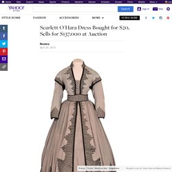 Scarlett O'Hara Dress Bought for $20, Sells for $137,000 at Auction