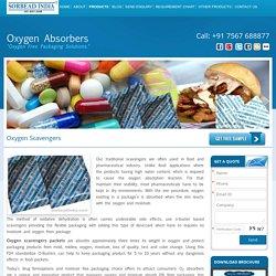 Oxygen Scavengers support Pharmaceuticals