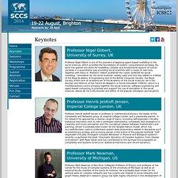 SCCS 2014 - Keynotes