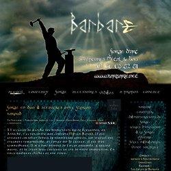Forge en duo à Sceautres avec Florian Baroud @ Barbarie.net - Couteaux d'art - Forge - Sculptures métal & bois