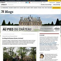 Le blog de Sceaux ferme, écrivez!