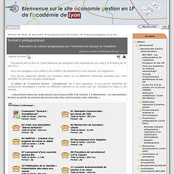 Scenarii pédagogiques - [ Site économie gestion en LP - Académie de Lyon]