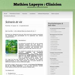 Scénario de vie Archives ~ Mathieu Lapeyre : Clinicien
