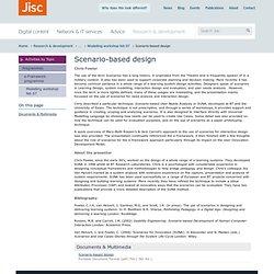 Scenario-based design