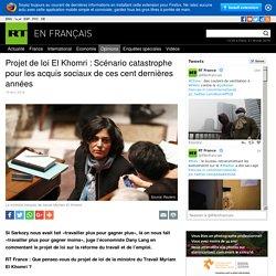 Projet de loi El Khomri : Scénario catastrophe pour les acquis sociaux de ces cent dernières années