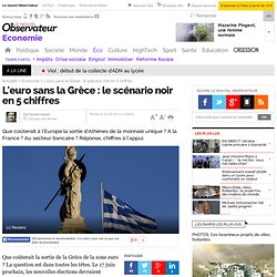 La zone euro sans la Grèce : le scénario noir en 5 chiffres