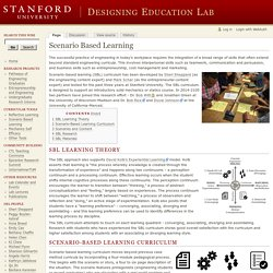 Scenario Based Learning - Designing Education Lab