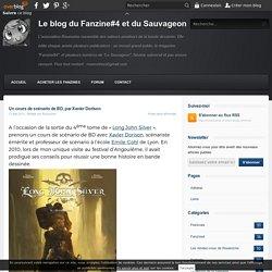 Un cours de scénario de BD, par Xavier Dorison - Le blog du Fanzine#4 et du Sauvageon