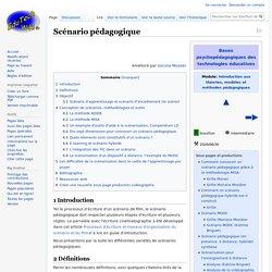 Scénario pédagogique — EduTech Wiki