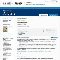 Scénario pédagogique - Dossier A2-B1 (Collège) - Nelson Mandela - Anglais - Langues en ligne - CNDP