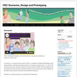 iTEC Scenarios, Design and Prototyping