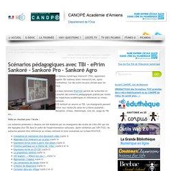 Scénarios pédagogiques avec TBI – ePrim Sankoré – Sankoré Pro – Sankoré Agro