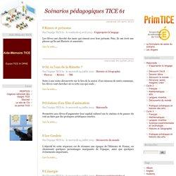 Scénarios pédagogiques TICE 61