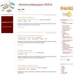 Tag - TBI - Scénarios pédagogiques TICE 61