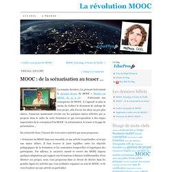 MOOC : de la scénarisation au teaser …