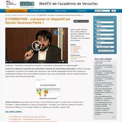 E-FORMATION : scénariser un dispositif par Sylvain Vacaresse Partie 1