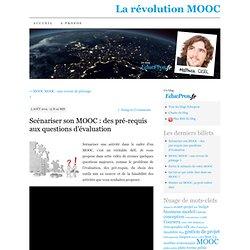Scénariser son MOOC : des pré-requis aux questions d'évaluation