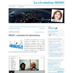 MOOC : scénariser les interactions
