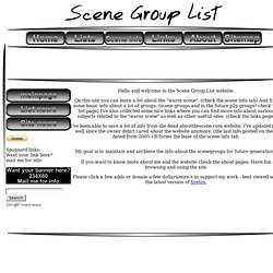 Scene Group List