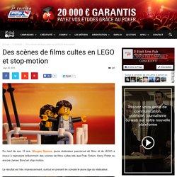 Des scènes de films cultes en LEGO et stop-motion