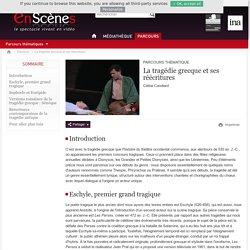 Extraits vidéos de pièces inspirées de la tragédie grecque (dont Antigone de Anouilh) (site Ina.fr)