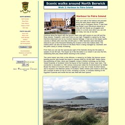 Scenic walks around North Berwick