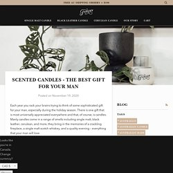 Scented Candles - The Best Gift for your Man – Fyrian