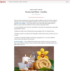Scents And More - Candles