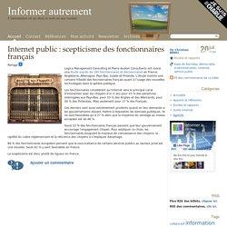 2011 : Internet public : scepticisme des fonctionnaires français