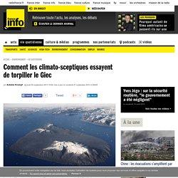 Comment les climato-sceptiques essayent de torpiller le Giec