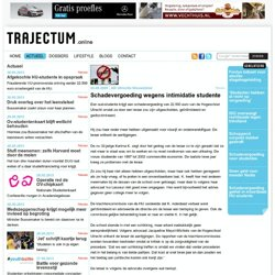 trajectum: Schadevergoeding wegens intimidatie studente